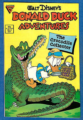 DONALD DUCK ADVENTURES # 8 (Gladstone Comics 1988) (vf-)