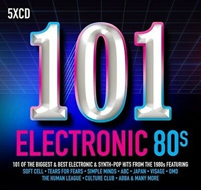Various Artists - 101 Electronic 80s / Various [New CD] Boxed Set, UK - Import