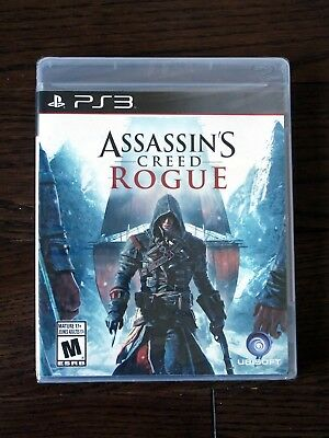 Brand New Assassin's Creed: Rogue Game (Sony PlayStation 3, 2014) Free Shipping