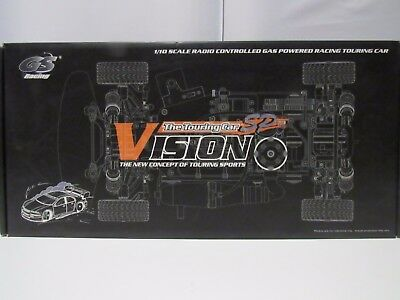 GS Racing Vision Sport Nitro 1/10 Touring Sports Car With Two Speed Gearing  RC