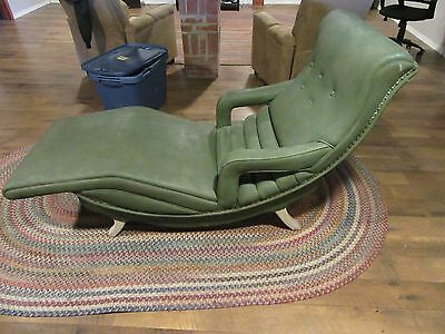 Vintage Mid-Century Modern GENUINE CONTOUR CHAIR Lounge Recliner VibratE  Chaise