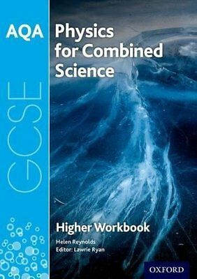 AQA GCSE Physics for Combined Science Tril by Helen Reynolds New Paperback Book