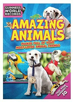 Guinness World Records Amazing Anim by Guinness World Records New Paperback Book