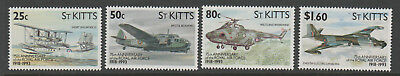 ST KITTS  75th Anniv of Royal Air Force  1993    COMPLETE SET