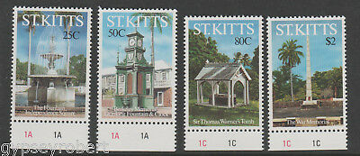 St Kitts  Local Monuments  1992    Complete Set