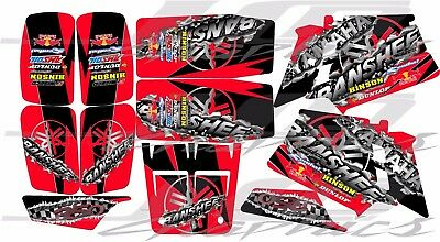 yamaha banshee full graphics kit RED