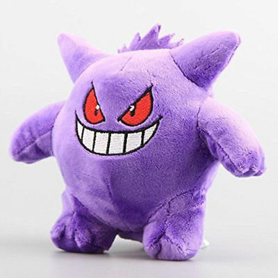 "New Pokemon 6.7"" L Gengar Soft Plush Toy Doll Stuffed Dolls Kids Gif"