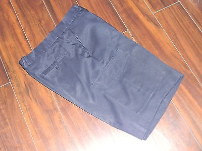 LNWOT Mens bermuda navy blue with pockets for work,thinner fabric size 36
