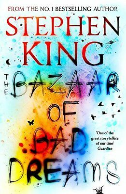 The Bazaar of Bad Dreams by Stephen King New Paperback Book