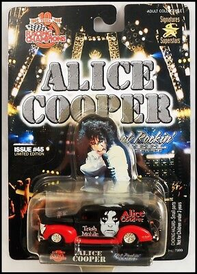 Alice Cooper 40 Ford Trash Mobile Die Cast Car Racing Champions