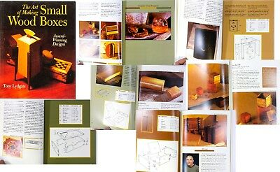 The Art of Making Small Wood Boxes. Book 1997