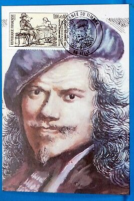 REMBRANDT  FRANCE CPA Carte Postale Maximum  Yt  2258 C