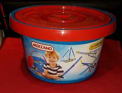 MECCANO CONSTRUCTION 8 MODELS TUB MEC760256 age 5 yrs +