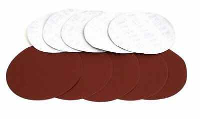 "ALEKO 120 Grit Sanding Discs Paper 9""  Drywall Sander Lot 10 without hole"