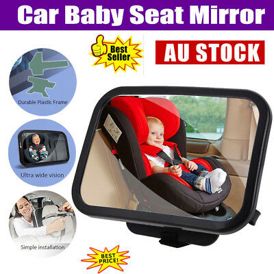 Car Safety Easy View Back Seat Mirror Baby Facing Rear Ward Child Infant Care AU