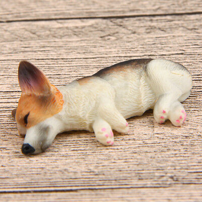SUPER CUTE 3D Pembroke Welsh Corgi Sleeping Figure Fridge Magnets - Tri-Color