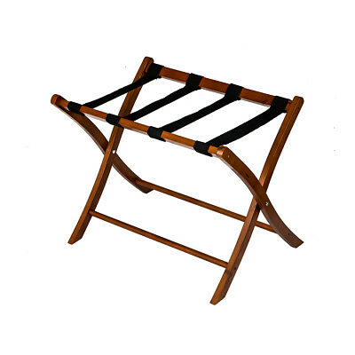 Wood Luggage Stand Folding Baggage Suitcase Hotel Travel Storage Rack Shelf