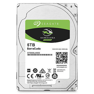 "Seagate BarraCuda 2.5"" Internal HDD 500GB 