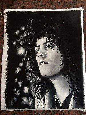 Marc Bolan / T- Rex -Original Hand painted Canvas!!!!!