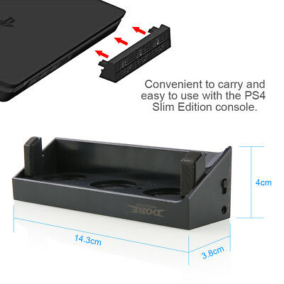 USB Cooling Fan External Super Turbo Cooler Control Heat Exhauster For PS4 Slim