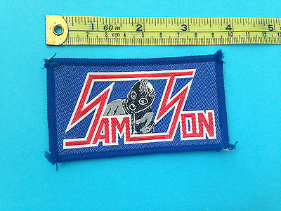 Samson early 80s sew on patch (LAST ONE)