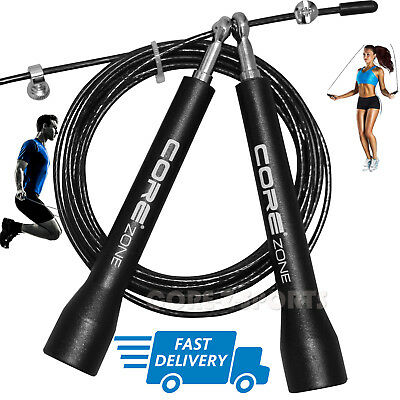 New Skipping Rope Fitness Exercise Adjustable Speed Jump Cable Crossfit Boxing