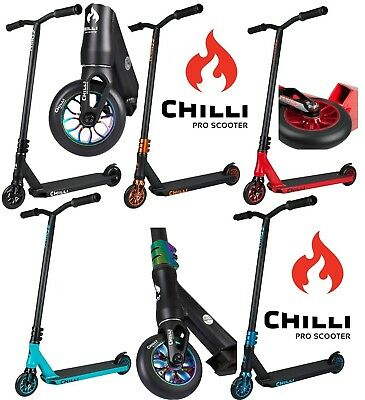 Chilli Pro Reaper Stunt-Scooter 110mm Trottinette Freestyle Trick Tret-Roller
