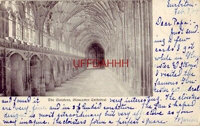 1904 - The Cloisters, Gloucester Cathedral
