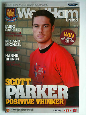 2009/10 West Ham United v Manchester United  Premier League