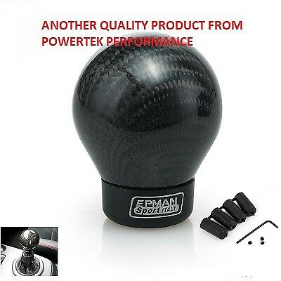 Universal Carbon Fiber Fibre Gear Shift Ball Lever Knob for MG BMW VW HONDA AUDI