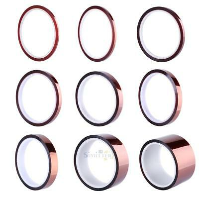3/4/6/8/10/12/15/30/50mmx0.06mmx30m 250°C BGA Protection Thermal Insulation Tape