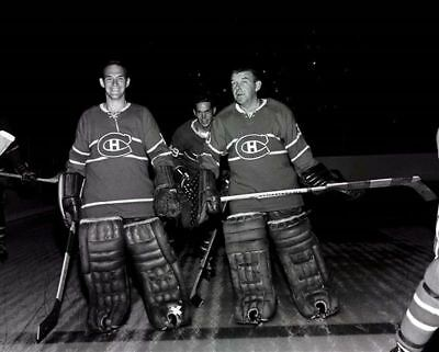 Charlie Hodge, Gump Worsley Montreal Canadiens 8x10 Photo