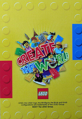 Sainsburys Create The World Lego Cards. First card 99p and 5p each thereafter
