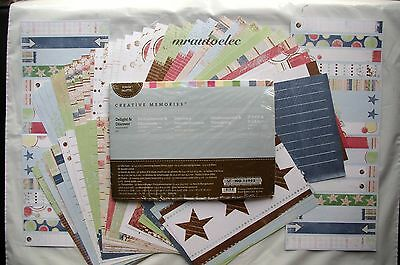 Creative Memories Delight & Discover Milestones Album Kit/Photo Mats