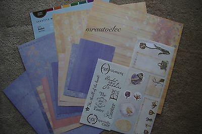 Creative Memories 12x12 Jewel Easter Additions Scrapbook Kit