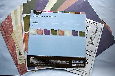 Creative Memories 8x8 Serenity Album Kit - Earthy natural