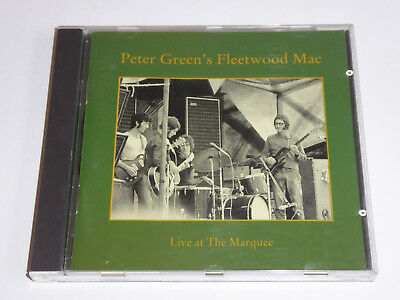 Peter Green's Fleetwood Mac - Live At The Marquee - CD ALBUM - EXCEL CONDITION