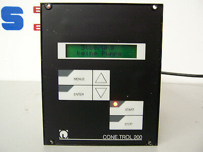 7921 Leybold Cone Trol 200 Ct 200 Tce Pump Controller Kat Nr 86270