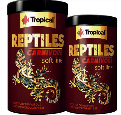 FOOD FOR CARNIVOROUS  AND OMNIVOROUS REPTILES dried crickets  Any Size TROPICAL