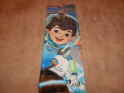 "New, Disney Store Miles From Tomorrowland Beach Towel, 30"" X 60"""