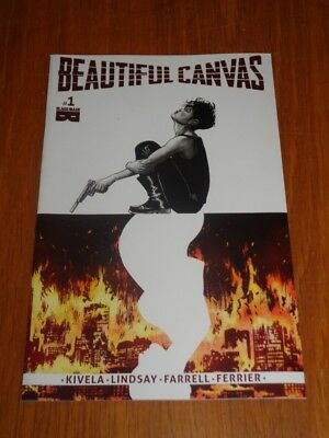 Beautiful Canvas #1 Blackmask Comics 2017 Nm (9.4)