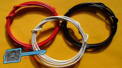 GUITAR PICKUP WIRING (HOOKUP WIRE) 22AWG (Best Stranded Core)