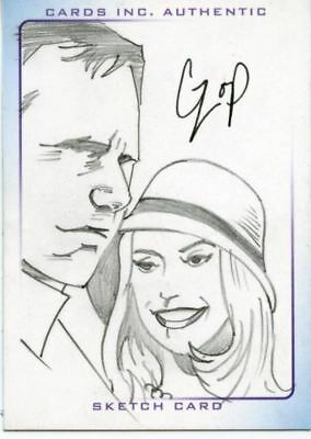 Thunderbirds Are Go! Movie Sketch Card by Czop Tracey/ Lady Penelope