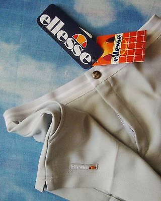 SHORTS TENNIS vintage 80's ELLESSE  tg.46-S circa  Made in Italy new! RARE