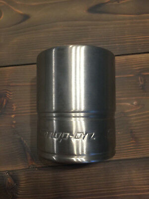 SNAP-ON TOOLS Metal Drink 'Coozie' Beer Can Drink Holder Excellent condition.