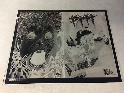 PITT tpb #1 ACETATE COVER ART, 1999, DALE KEOWN, FULL BLEED, WICKED COOL