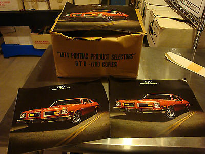 Pontiac GTO dealer sales brochure-N.O.S. - fresh from box!-qty. 2