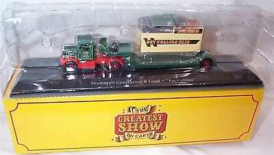 SCAMMELL CONTRACTOR /& LOAD PAT COLLINS FAIR CIRCUS ATLAS 1:76 #108