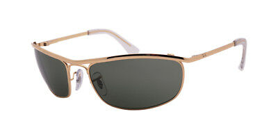 a310882819 Ray Ban Olympian RB3119 001 62 Arista Gold Frame   Crystal Green Lenses