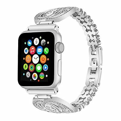For Apple Watch Band 42mm Stainless Steel Replacement Strap iWatch Series2 1 NEW
